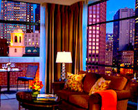 Marriott Long Wharf Hotel in Boston