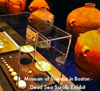 Dead Sea Scrolls Exhibit at Boston's Museum of Science