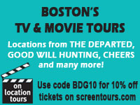 Discount code for Boston TV and Movie Bus Tour of Beacon Hill