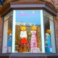 Newbury Street Boston boutique window