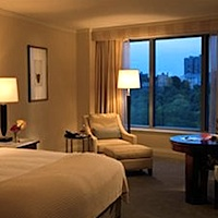 Room overlooking Boston Common - Ritz Carlton Hotel Boston