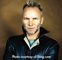 Photo of Sting - Boston concert in June