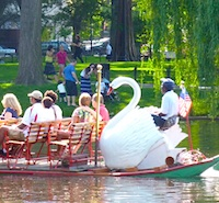 Photo of Swan Boat in Boston - a must for sightseeing tours