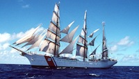 Tall ship tours on the Eagle in Boston - Charlestown Navy Yard