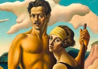 Thomas Hart Benton show at the Peabody Essex Museum - photo courtesy of PEM