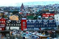 Photo of Torshavn, Faroe Islands - photo courtesy of Eric