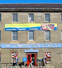 Constitution Museum in Boston's Charlestown neighborhood
