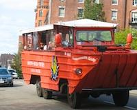 Photo of Boston Duck Tour Boat - favorite Boston sightseeing tour