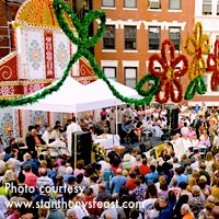 Boston Labor Day Events - St Anthony's Feast