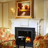 Lenox Hotel room with fireplace in Boston MA