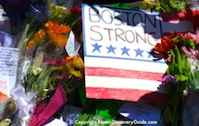 Boston Strong - 217th Marathon Memorials - Photos