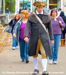 Boston Massacre Site Tours - photo of tour guide