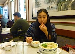 Dinner in Boston's Chinatown