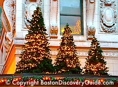Boston events for December