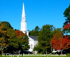 Fall Spectacular Tour in Boston, Lexington, Concord