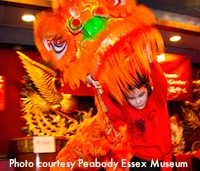 Lunar New Year Celebration in Boston - photo courtesy Peabody Essex Museum