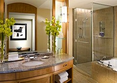 Mandarin Oriental Boston bathroom