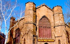 Salem Witch Museum, favorite Boston tour for teens