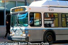Taking the subway from Boston's Cruise Terminal to Faneuil Hall Marketplace