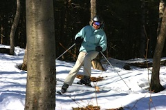 Berkshire East Ski area in western Massachusetts, 2.5 hours from Boston