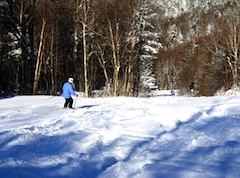 Photo of Bolton Valley Resort, New England ski area with huge indoor sports center
