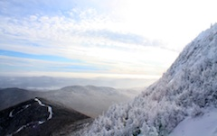 Photo of Jay Peak, most norther New England Ski Area