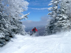 Photo of gorgeous scenery at Smuggler's Notch Resort, top New England Ski Area