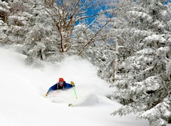 Stowe Mountain Resort, New England ski area north of Boston