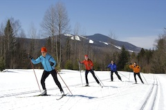 Waterville Valley Resort, popular New England ski area