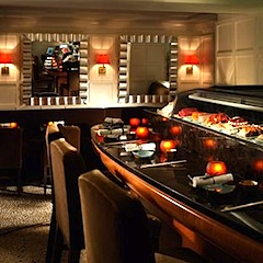 Uni Sushi Bar at Eliot Hotel in Boston