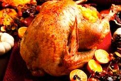 Turkey dinner in Boston restaurants