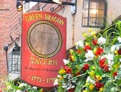 Enjoy Boston nightlife in Bell in Hand, a historic Boston bar