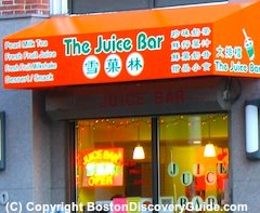 The Juice Bar in Boston's Chinatown