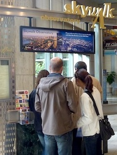 Getting tickets for Prudential Skywalk Observatory at Prudential Center in Boston