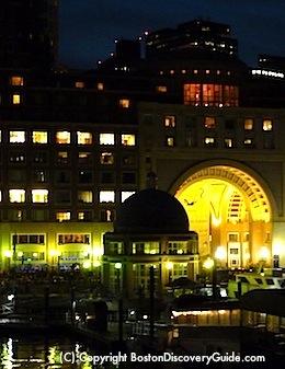 Boston Harbor Hotel, home to the Boston Wine Festival