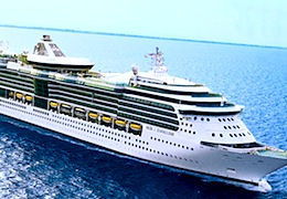 Royal Caribbean's Jewel of the Seas offers cruises from Boston to New England and Canada