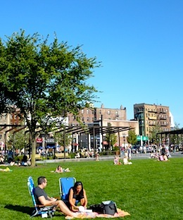 Photo of Rose Kennedy Greenway