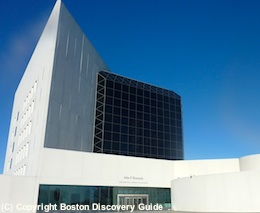 Photo of JFK Library and Museum in Boston MA