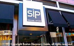 Info about Sip and other Boston wine bars