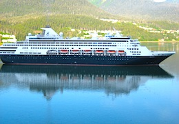 Holland America's Veendam cruises from Boston