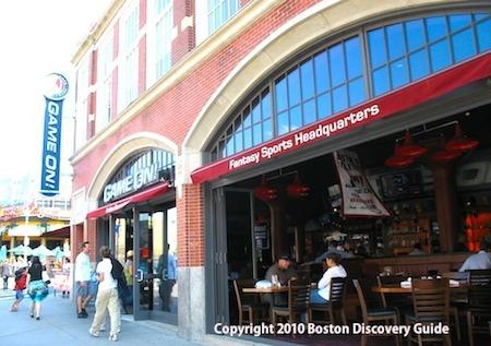 Game On! - Boston bar near Fenway - www.boston-discovery-guide.com