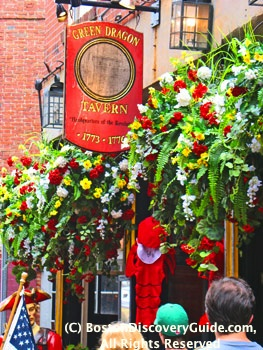 Green Dragon Tavern, one of the most historic Boston Bars