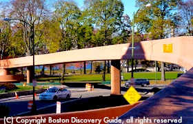 Fiedler Footbridge to Boston Esplanade