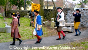 Patriots Day Reenactment - Menotomy Drum and Fife Corps