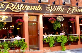 Ristorante Villa Francesca in Boston's North End