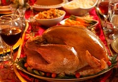Thanksgiving turkey dinners at Boston restaurant hotels