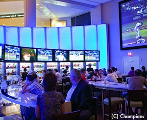Champions Sports Bar at the Boston Copley Marriott