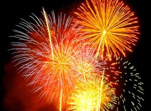 Boston fireworks viewing spots on Castle Island