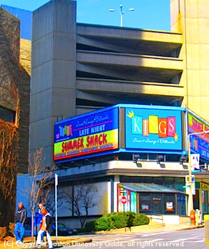 Kings is a popular Boston sports bar with bowling and billiards