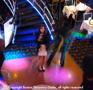 Spirit of Boston dance floor and DJ